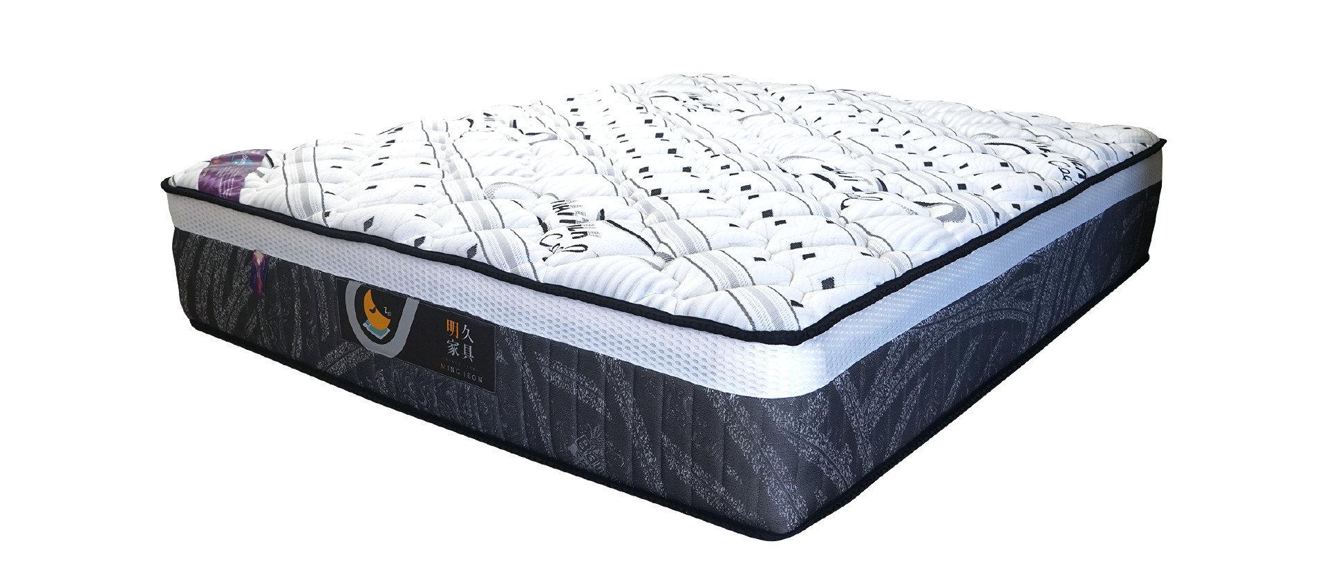 【涵碧樓 二線恆溫獨立筒】床墊產品實照