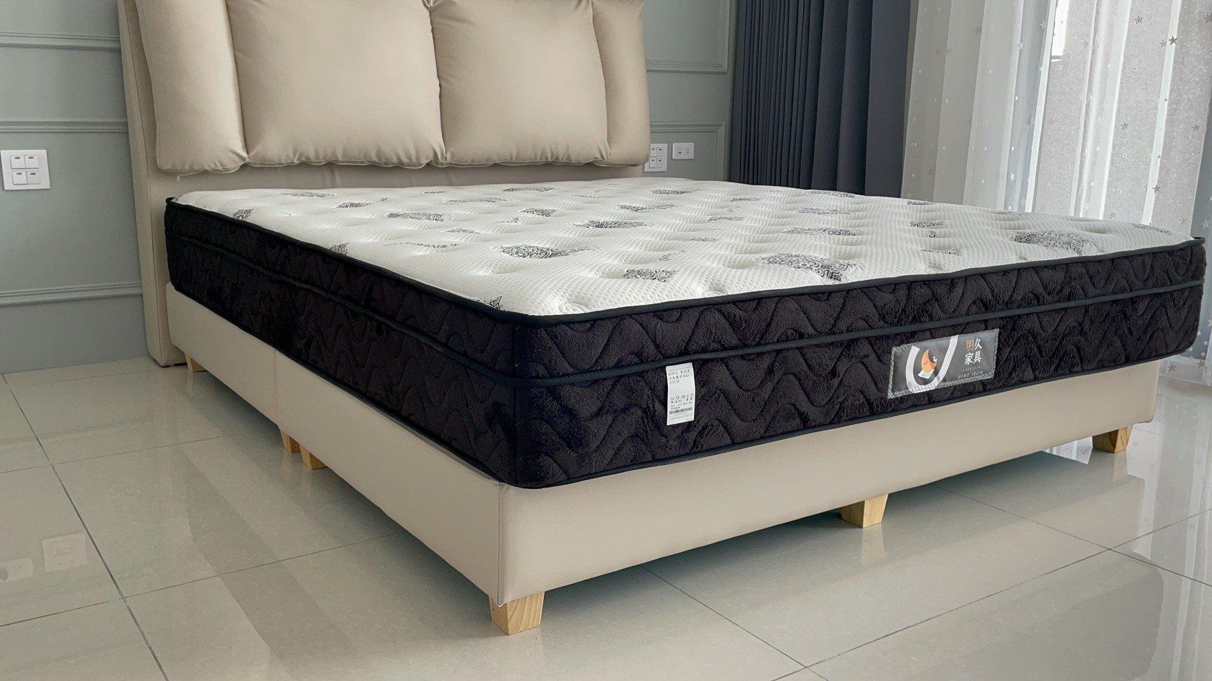 奧莉芙床墊覆上1cm天然乳膠,大幅提升舒適性